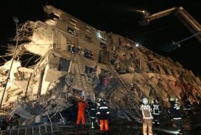 臺南發生大地震