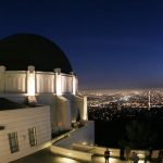 Los Angeles, UNITED STATES:  People visit the Griffith Observatory, 02 November 2006 in Los Angeles. The Griffith Observatory reopened after a restoration and expansion project that stretched nearly five years and cost 93 millions US dollars. AFP PHOTO / GABRIEL BOUYS  (Photo credit should read GABRIEL BOUYS/AFP/Getty Images)