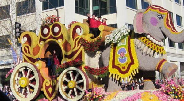 第128屆巴沙迪那元旦玫瑰花車遊行