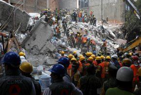 墨西哥城在周二下午发生了7.1级地震  225人死亡