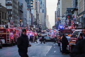 紐約曼哈頓驚傳自殺炸彈恐怖攻擊 男嫌27歲