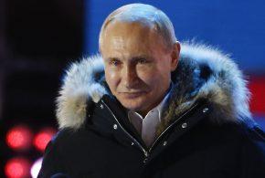 俄羅斯總統蒲亭在總統大選中取得壓倒性勝利